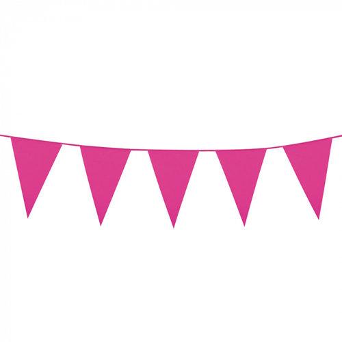 Boland BV Grote vlaggenlijn fel roze 10 m