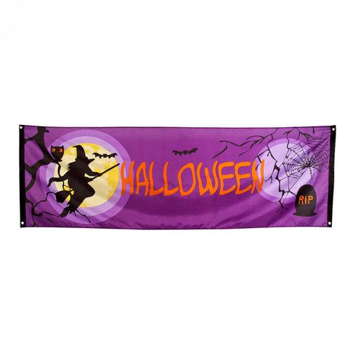 Boland BV Banner Halloween 74 x 220 cm