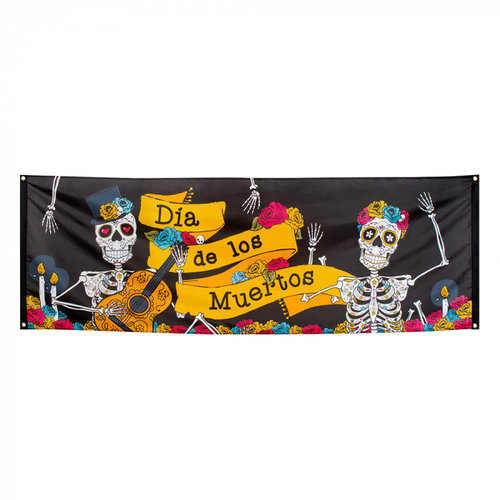 Boland BV Banner Day of the Dead 74 x 220 cm