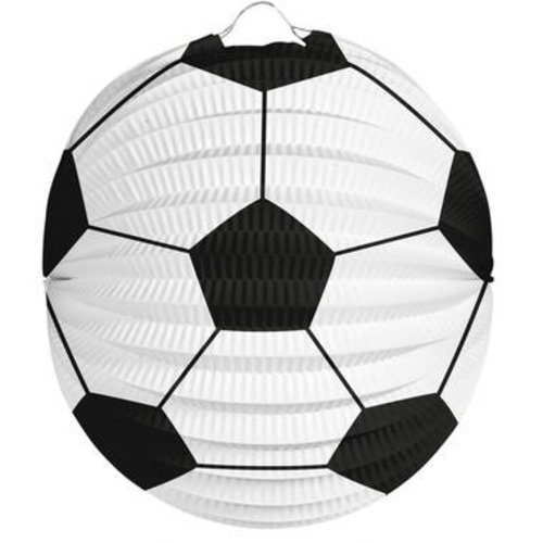 Bol lampion voetbal ø 22 cm brandveilig