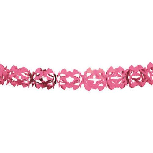 Boland BV Slinger Hoku papier roze 6 m brandveilig