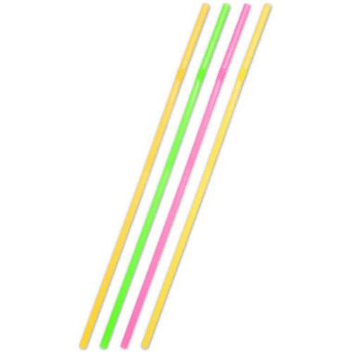 Rietjes extra lang neon 44 cm 25 stuks