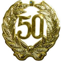 Krans 50 jaar goud 44 cm