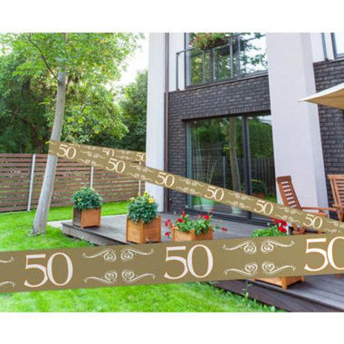 Markeerlint goud 50 jaar 15 m