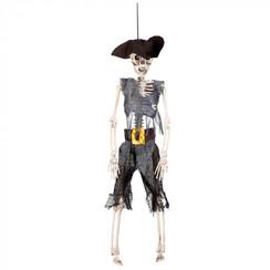 Hangdeco skelet piraat 40 cm