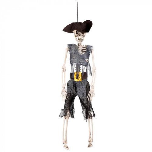 Boland BV Hangdeco skelet piraat 40 cm