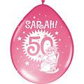 Ballonnen Sarah 30 cm 8 stuks