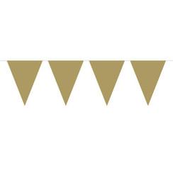Vlaggenlijn goud 6 m