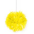 Folat Pompom geel 30 cm