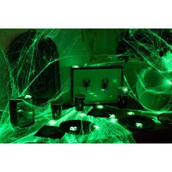 Spinnenweb glow in the dark 100 g