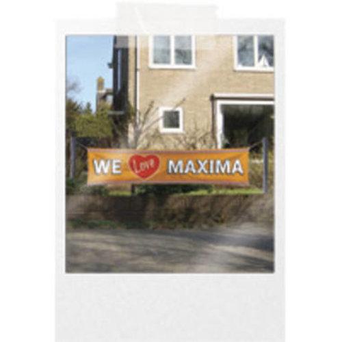 Banner We Love Maxima 180 x 40 cm