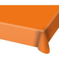 Tafelkleed oranje 130 x 180 cm