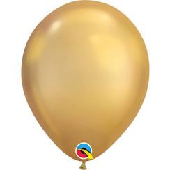 Chrome ballonnen goud ø27,5 cm