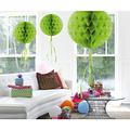 Decoratie bal lichtgroen 30 cm