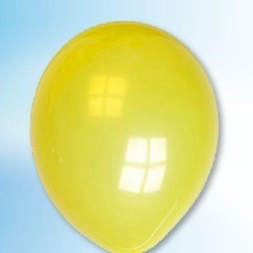 Globos Ballon kristalgeel ø 30 cm 25 stuks
