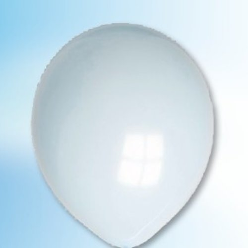 Globos Ballon lichtblauw ø 30 cm 25 stuks