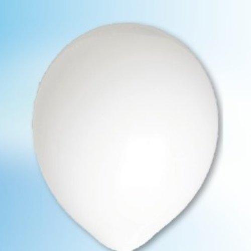 Globos Ballon wit ø 30 cm 25 stuks
