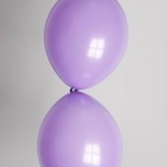 Doorknoopballon violet ø 30 cm 25 stuks