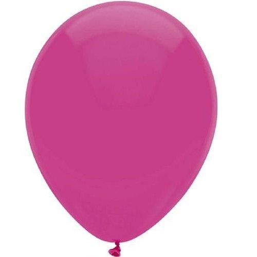 Globos Ballon magenta ø 30 cm 25 stuks