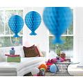 Folat Decoratie ballon lichtblauw 37 cm