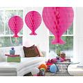 Folat Decoratie ballon neon roze 37 cm