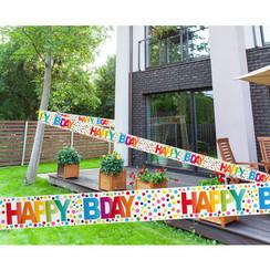 Markeerlint Happy Bday 15 m