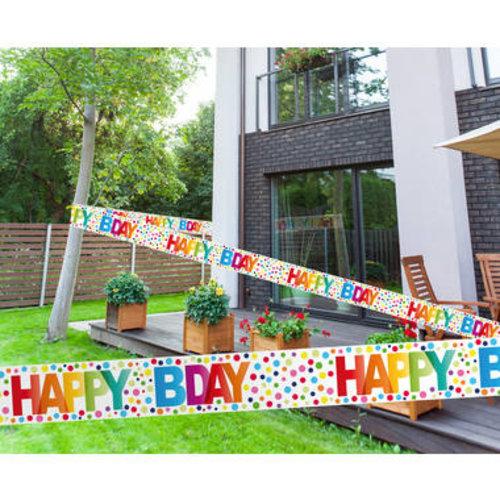 Boland BV Markeerlint Happy Bday 15 m