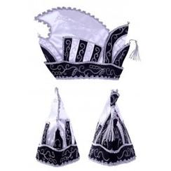 Prinsensteek luxe zwart-wit maat 63