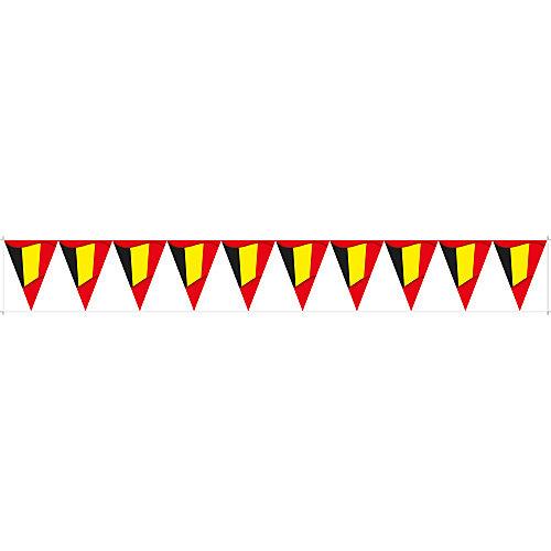 HSA Raamsticker vlaggenlijn België statisch 130 x 17 cm