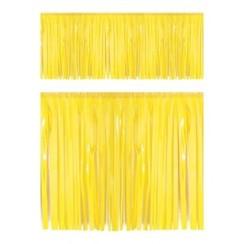 Franje slinger pvc geel 6 m brandveilig