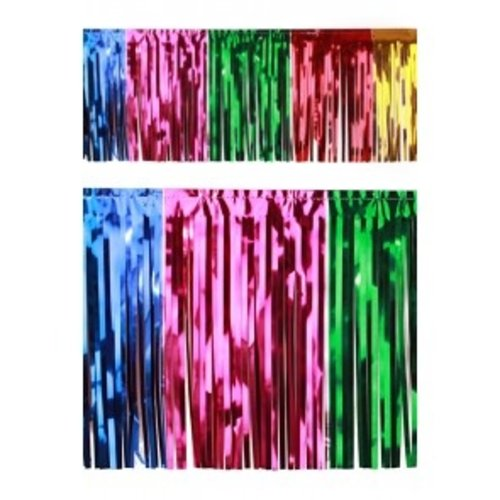 Franje slinger folie multicolour 6 m