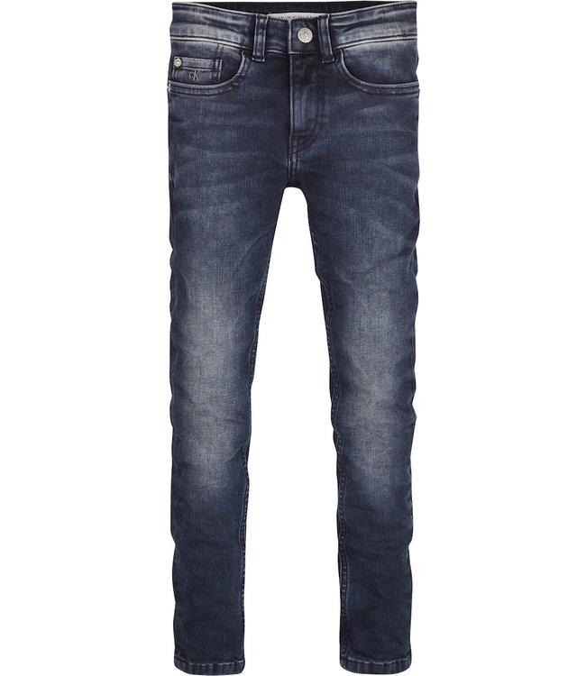 Calvin Klein SUPER SKINNY DEW BLUE GREY