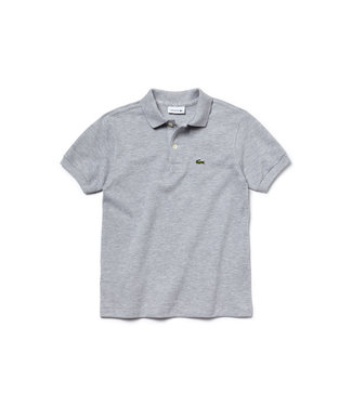 Lacoste Children s/s best polo 011 silver chine