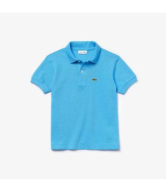 Lacoste Children s/s best polo 011 barbeau blue
