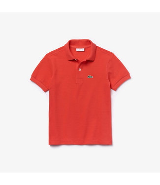 Lacoste Children s/s best polo 011 energy red