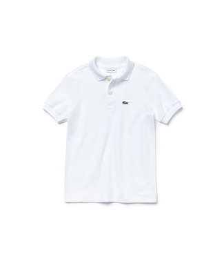 Lacoste Children s/s best polo 011 white