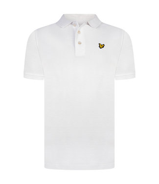 Lyle & Scott Classic Polo Shirt Bright White