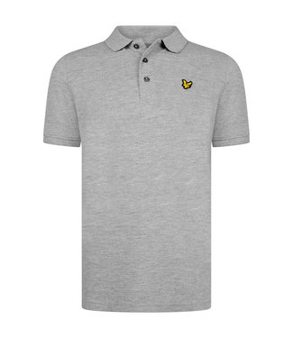 Lyle & Scott Classic Polo Shirt Vintage Grey Heather