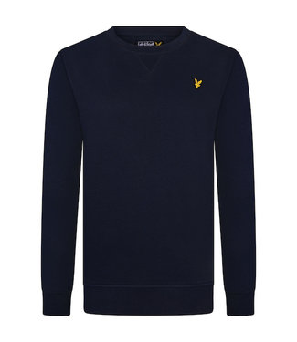 Lyle & Scott Classic Crew Neck Fleece Navy Blazer