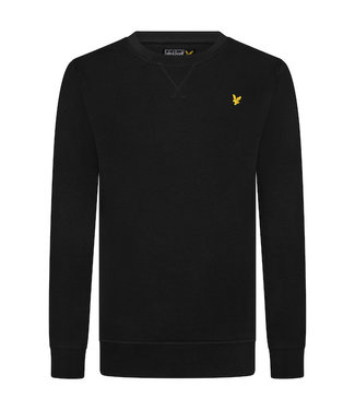 Lyle & Scott Classic Crew Neck Fleece True Black