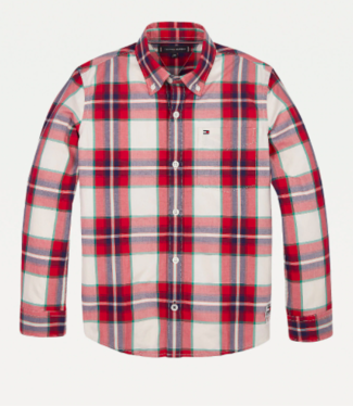 Tommy Hilfiger CHECK SHIRT L/S RED CHECK