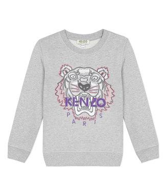 Kenzo KR15158 tiger JG B2 sweater grey