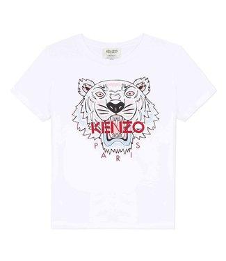 Kenzo KR10208 tiger JG 6 t-shirt white
