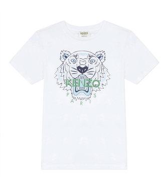 Kenzo KR10768 tiger JB B1 t-shirt white