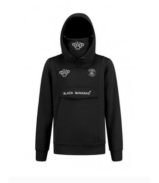 Black Bananas JR Mask Hoody black