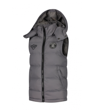 Black Bananas JR F.c. Bodywarmer grey