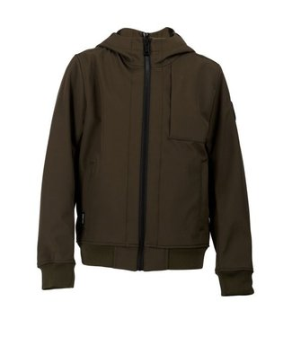 Airforce SOFTSHELL JACKET CHESTPOCKET olive night