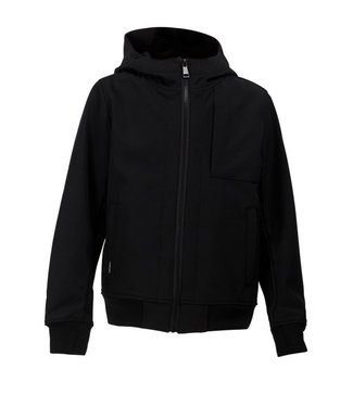 Airforce SOFTSHELL JACKET CHESTPOCKET true black