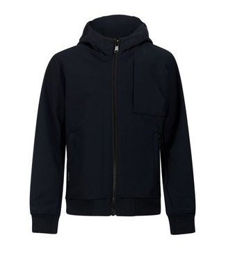 Airforce SOFTSHELL JACKET CHESTPOCKET dark navy blue