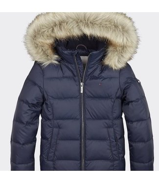 Tommy Hilfiger ESSENTIAL BASIC DOWN JACKET TWILIGHT NAVY